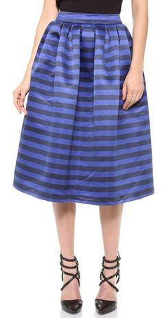 midi skirts, full skirts, fashion skirts, skirt style, stapen box