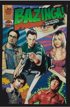 big bang, comic books, bang theori, theori comic