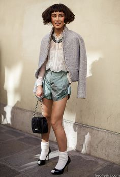 Chen Ran #fashion #streetstyle