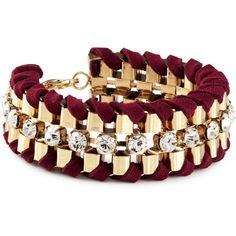 H Bracelet ($13) ❤ liked on Polyvore