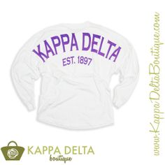 Kappa Delta Boutique does custom group orders!! Kappa Delta Coastal Jersey!