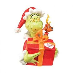 Grinch cookie jar