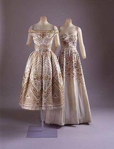 "Christian Dior ""Palomita"" House of Dior fall/winter 1953 –1954"