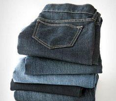 Tips for cleaning embellished denim.