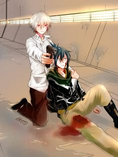 Shion and Nezumi.