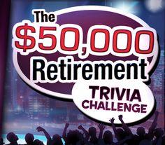 WIN $50,000 towards your retirement