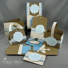 Stampin' Up!  7 Ideas for the Two Tags Die and a Free Tutorial
