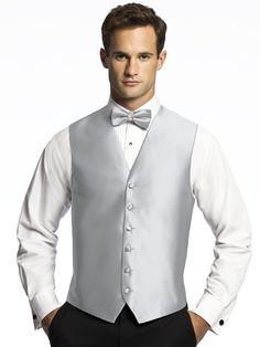 Aries Vest for Men-platinum