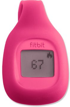 A great motivator! The FitBit tracks steps, distance and calories burned.