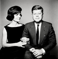 Jacqueline Kennedy & John F. Kennedy, 1961 (Richard Avedon) nice couple