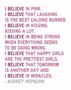 I believe this is my favorite saying!!