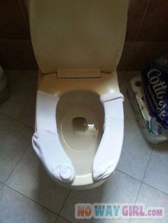 You Ever Been So Cold That You Had To Put Socks On Your Toilet?