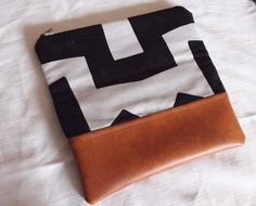Scared Stitchless: Foldover Clutch
