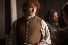 """""""A Week in the Bedchamber"""": Sam Heughan on Last Night's Steamy 'Outlander' Episode"""