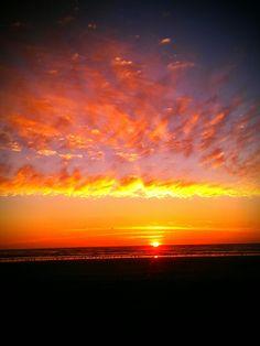Sunset - Ocean Shores, Washington,USA
