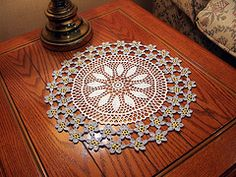 Ravelry: Forget-Me-Not Doily pattern by American Thread Company