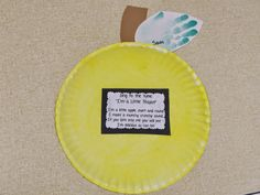 The Stuff We Do~ Paper Plate Yellow Apples ~ Sherry and Melissa