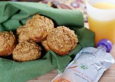 Carrot Oat Cakes. Get more kid-friendly recipes like this at Plum Organics Little Foodies Cookbox https://www.plumlittlefoodies.com/little_foodies/2012/04/carrot-oat-cakes/