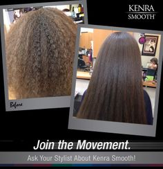 Kenra Smooth® provides long lasting results up to 60 shampoos, so don't fight your hair this spring, enjoy smooth, frizz-free hair!