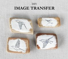 DIY Image Transfer   The Crafted Life