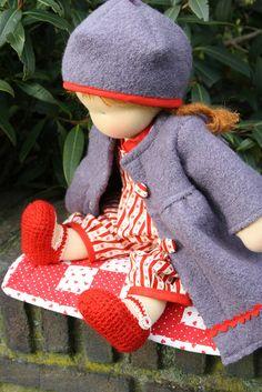 Love the clothes  Waldorf doll  poupée