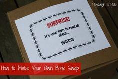 book swap, kid