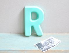 """R"" for the alphabet wall"