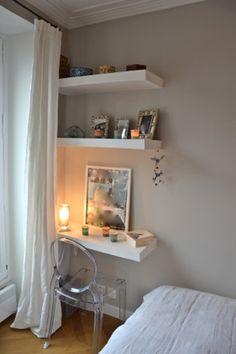 Bedroom, chambre, papier peint Cole&son, amcodeco.com