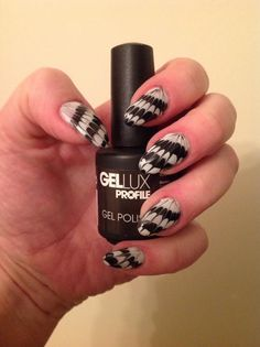 Halloween web nails created using Gellux by @Rachelgribble1