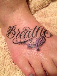 Cystic Fibrosis tattoo