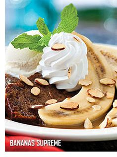 "Dozens of recipes from Bahama Breeze Restaurants -- Shown: Bananas Supreme with Butterscotch (note: you have to have your own ""loaf of banana bread"" but this does give the butterscotch sauce recipe and instructions on how to put this amazing dessert together)"