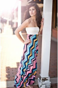 I'm all about the maxi skirt!