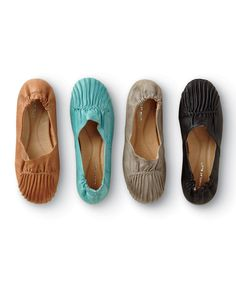 Cam Leather Flats Misses | Territory