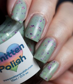 Smitten Polish Pink Goes Good With Green | A Polish Addict polish pink, green, polish addict, smitten polish