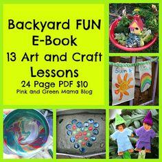 Summer craft ideas with the kids #JumpSportStaycation