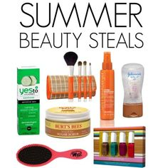 Summer Beauty Steals.  The Wet Brush for the kiddos.  Tearsaver!
