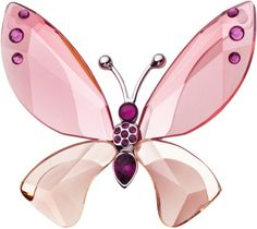 butterflies, crystal butterfli, pink butterfli, glass, swarovski crystals