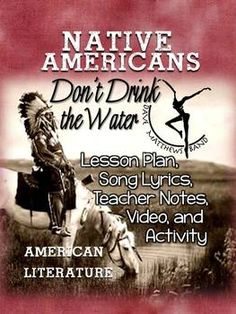 Native American Literature: Lesson, Lyrics, Teacher Notes,