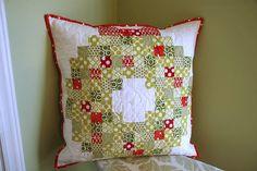 Christmas Wreath Pillow (link to a Moda Bakeshop tutorial)