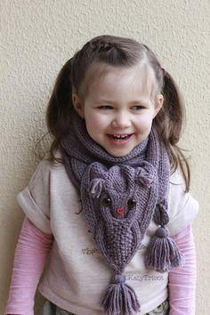 Owl Ways scarf Knitting pattern - via @Craftsy