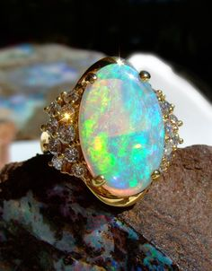 Opal Ring - I want my ring to be an opal or a simple band.