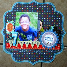 my own layout-birthday boy this week May 2011