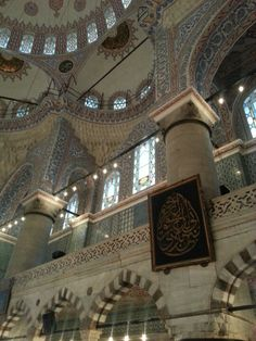 Sultanahmet Camii.