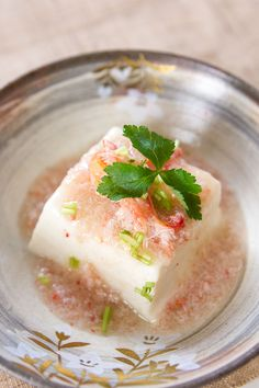 Rich custardy silken tofu topped with a thick crab sauce is my favorite way to eat tofu.