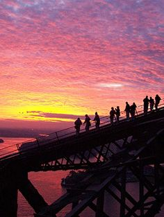 Early risers make the most of their mornings in Sydney with a Bridge Climb.