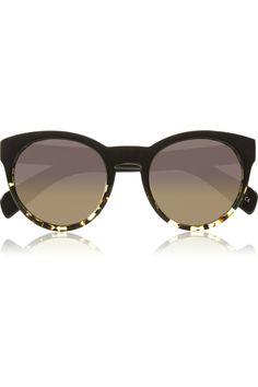 Alivia round-frame sunglasses