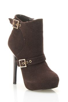 Daneli Ankle Boot In Chocolate