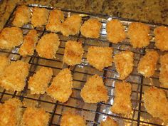 Homemade Baked Chicken Nuggets. These would be good for Holly.