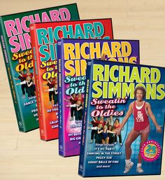 New Arrival: Richard Simmons Sweatin' to the Oldies DVD Set