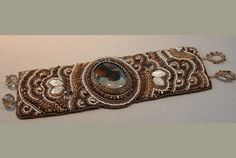 Bead Embroidered Cuf